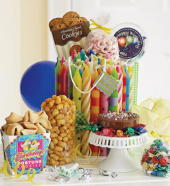Birthday Treats Gift Bag