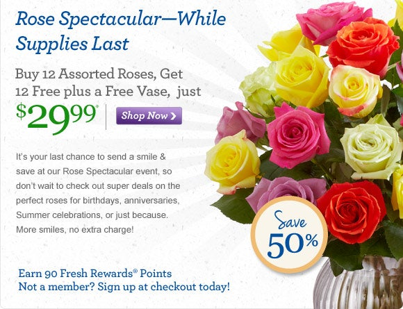 1800flowers discount coupons