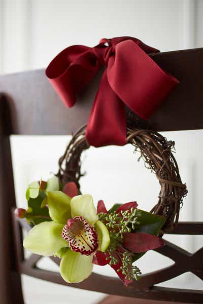 Grapevine Chair Wreath
