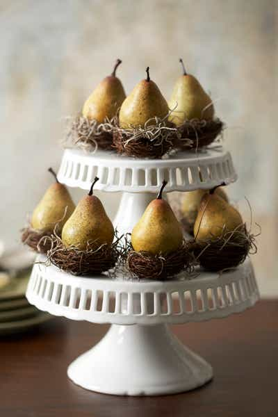 Pear Nest Favor