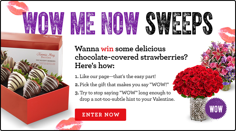 Wow Me Now Valentines Contest Facebook