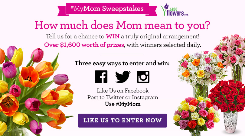 MyMom Social Sweepstakes