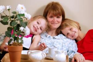 Kids Make Mothers Day Breakfast in Bed