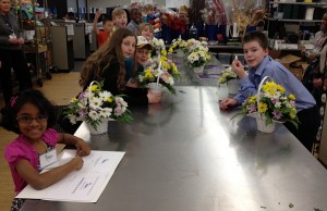 take your child to work day flower arrangements