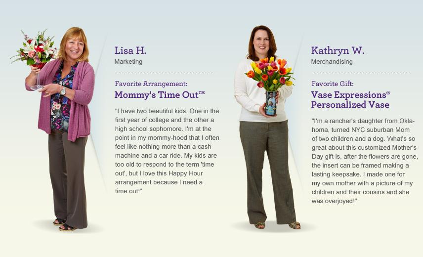 Meet 1800Flowers Moms Lisa and Kathryn