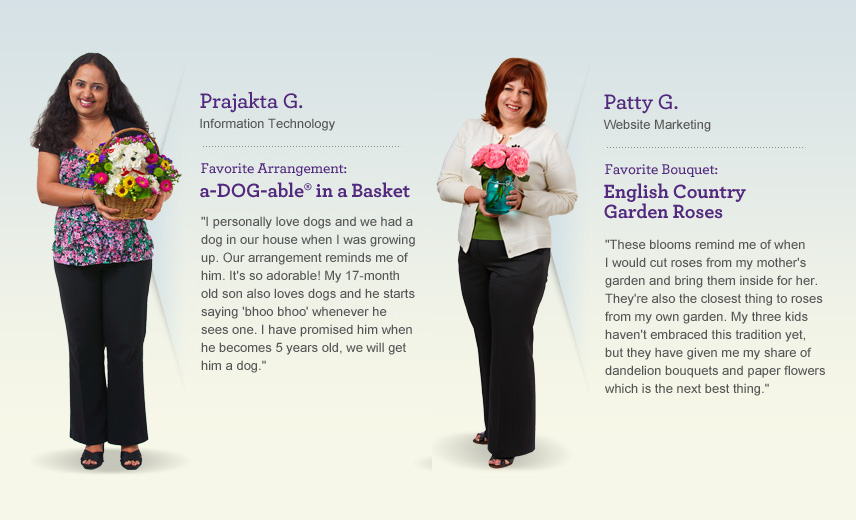Meet 1800Flowers Moms Prajakta and Patty