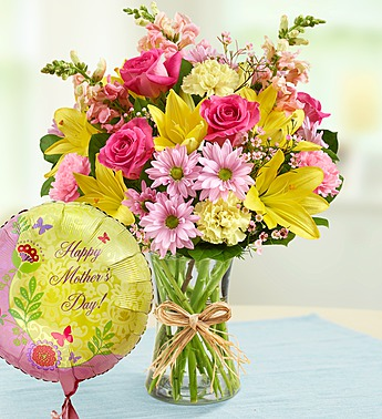 bouquet-and-balloon-for-mom