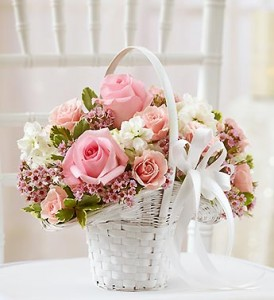 cutest flower girl baskets