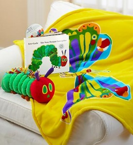 The Very Hungry Caterpillar Book & Blanket Gift Set