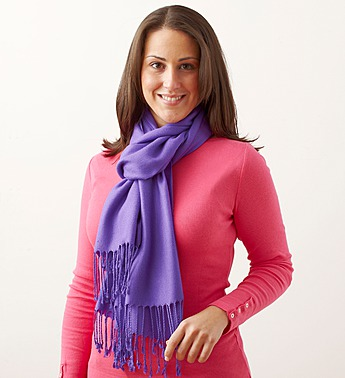 Wrapped in Your Love, Pashmina Scarf