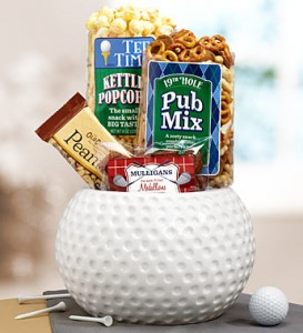 Father's Day Golfer's Choice Snack Bowl