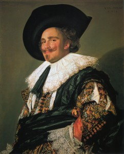 The Laughing Cavalier's Smile