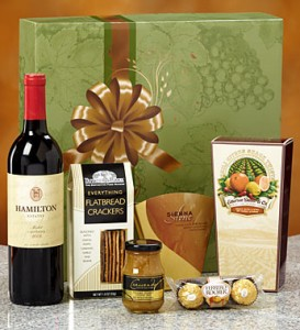 Vineyard Select Red Wine Gift Box