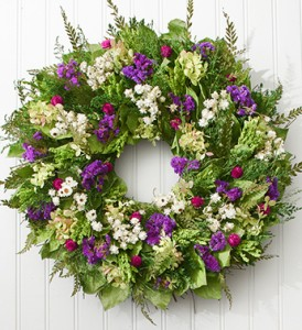 1800flowers.com garden wreath