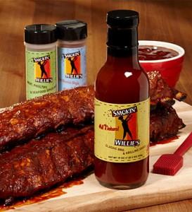 BBQ ribs grill gift set