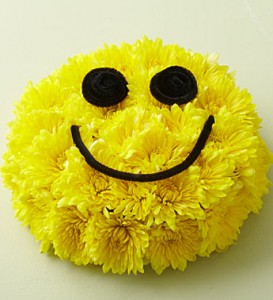1800flowers.com smiley face arrangement