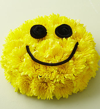 1800flowers smiley face arrangement