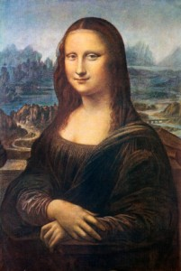 The Mona Lisa and her smile