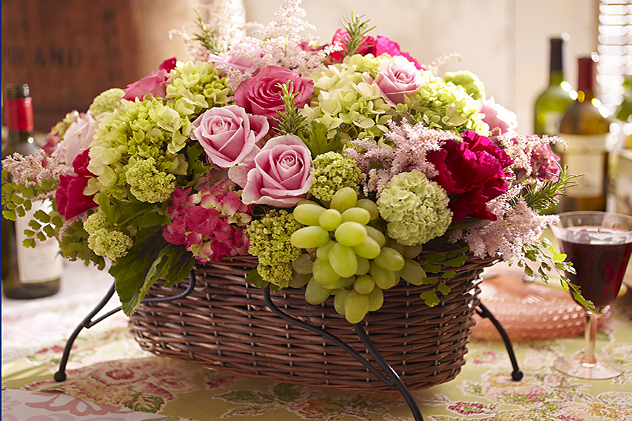 flowers-and-grapes