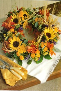 Sunflower Wreaths DIY