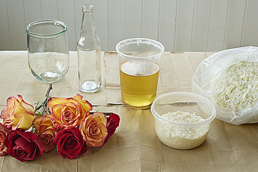 Wax Flower Preservation Ingredients
