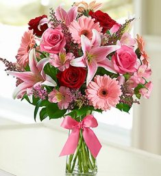 1-800-Flowers Fields of Europe Bouquet - Romance