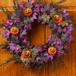 Glittered Halloween Wreath