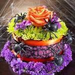 Itsy Bitsy Spider flower cake