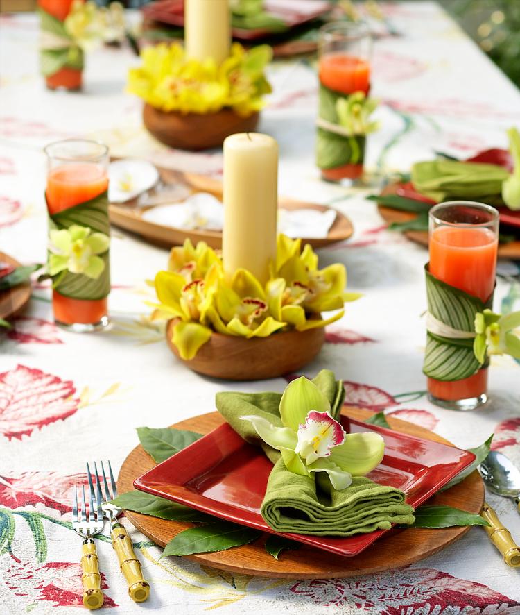 Hawaiian Luau Table Decoration Ideas Photograph How To Set