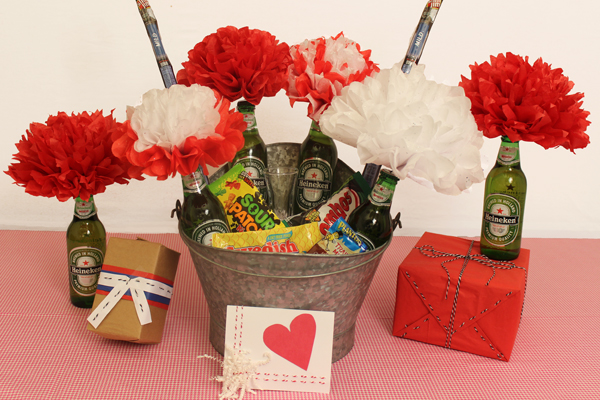Diy Valentine Gift Ideas For Him The Man Bouquet Petal Talk