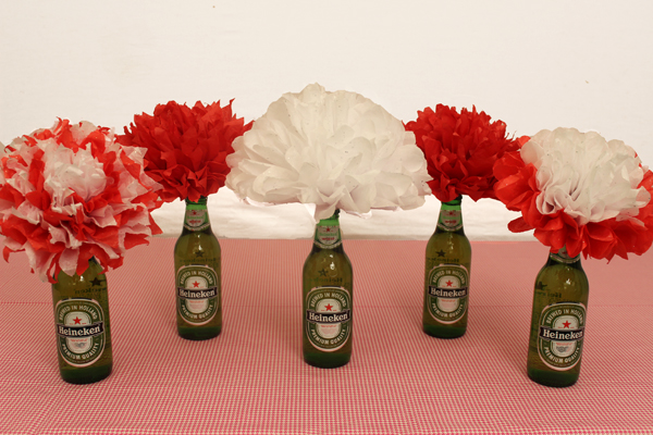 How to Make Flowers out of Beer Bottles