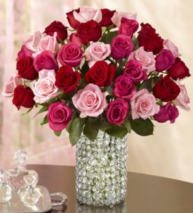 enchanted-rose-medley-in-crystal-vase