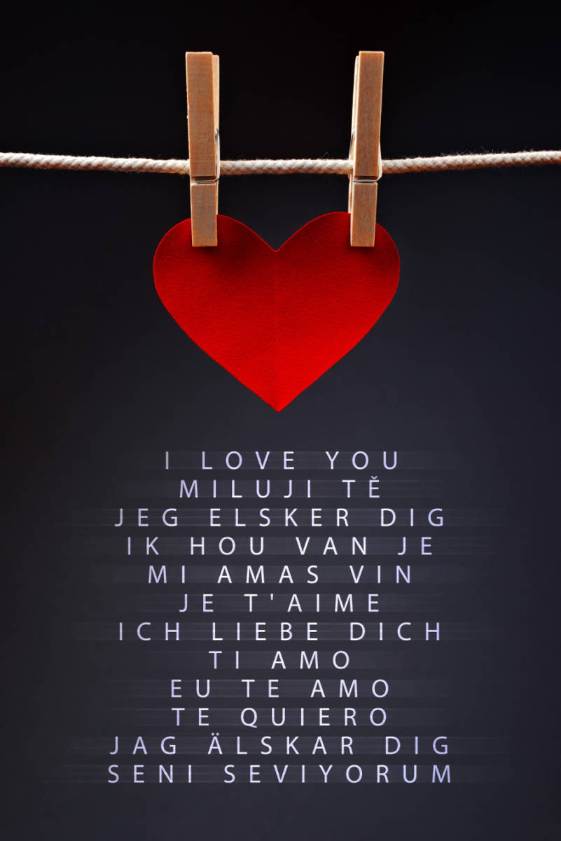 i love you speak