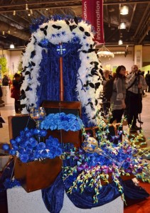 Royal Robe Made of Flowers