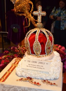 Royal Crown Made of Flowers