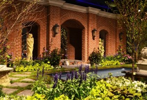 Flower Garden and Pool