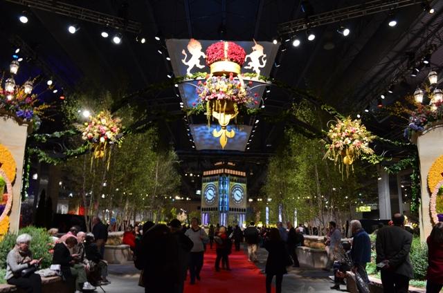 Entrance to Philadelphia Flower Show