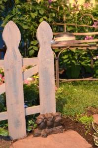 Quaint Garden Entrance