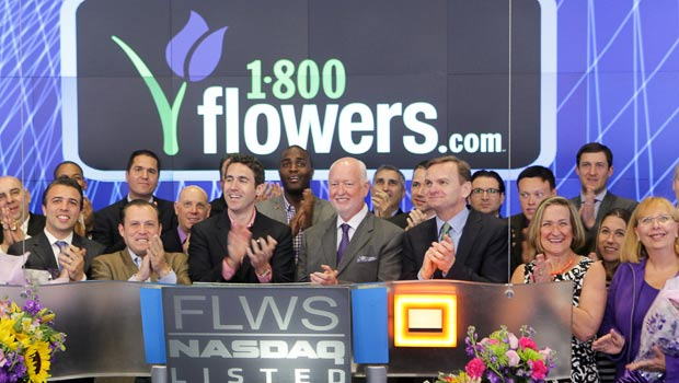 1-800-Flowers Team Rings the Opening Bell at NASDAQ