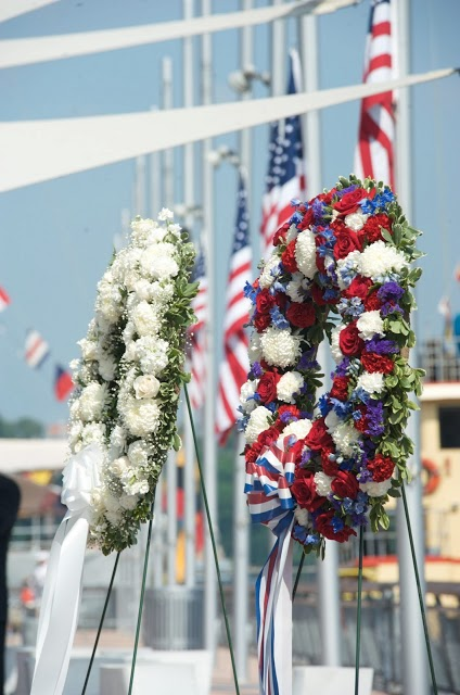 1-800-Flowers Wreaths Displayed at USS Intrepid's Annual Memorial Day Ceremony