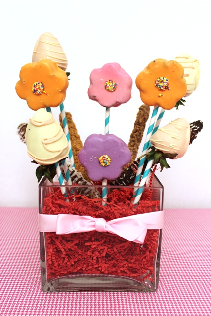 DIY Candy Bouquet for Mother's Day