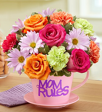 Mom Rules Bouquet