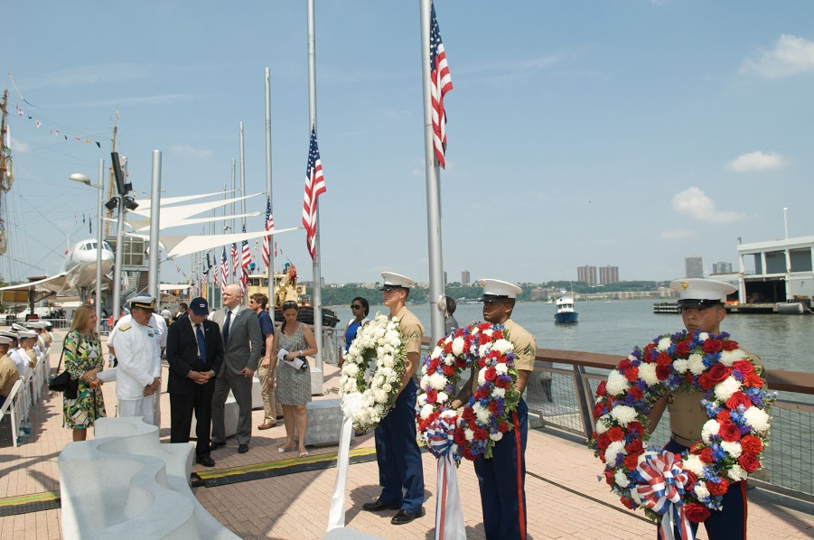 USS Intrepid's Sea Air & Space Museum's Annual Memorial Day Ceremony