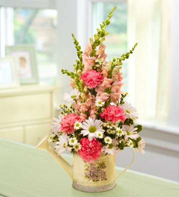 DIY Mother's Day Flower Arrangement