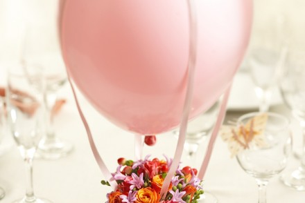 Mother's Day DIY Craft: How to Make aFloral Hot Air Balloon Arrangement for Mom