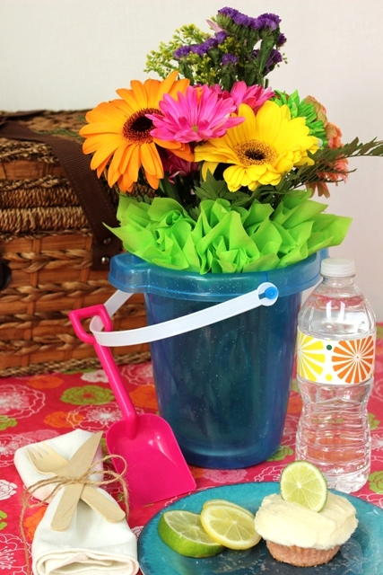 DIY Beach Bouquet Centerpiece