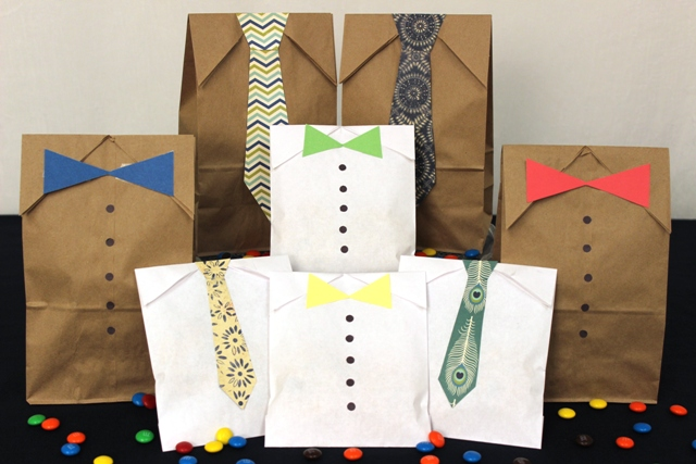 DIY Father's Day Gift Bags