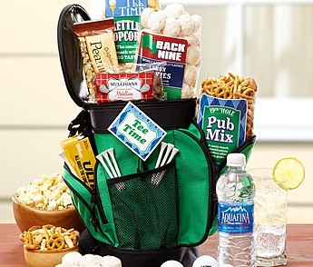 Taste of the Tour Golf Gift Basket With Snacks