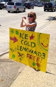 Lemonade Stand Poster
