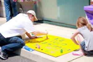 Making the Lemonade Sign